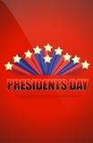 Het teken van de voorzittersdag stock illustratie