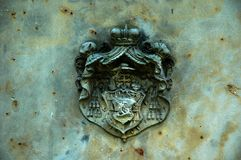 Het teken van de wapenkunde Stock Foto