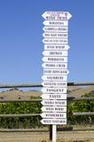 Het Teken van de wijnmakerij Royalty-vrije Stock Fotografie