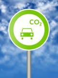 Het teken van Ecologyc Royalty-vrije Stock Foto's