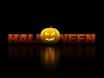 Het teken van Halloween Stock Foto's