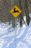 Het teken van herten stock foto's