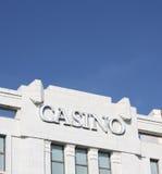 Het Teken van het casino Stock Afbeeldingen