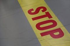 Het teken van het einde Stock Fotografie
