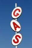 Het teken van het gas Royalty-vrije Stock Foto's