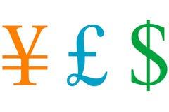 Het Teken van het geld stock illustratie