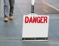 Het Teken van het gevaar Stock Afbeeldingen