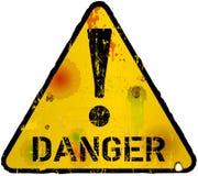 Het Teken van het gevaar royalty-vrije illustratie