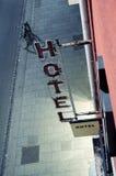 Het teken van het hotel Royalty-vrije Stock Foto