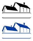 Het teken van het huis stock illustratie