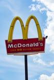 Het teken van het Mcdonaldsrestaurant Royalty-vrije Stock Afbeeldingen