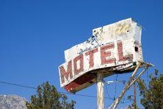 Het teken van het motel Stock Afbeelding