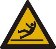 Het teken van het ongeval Stock Afbeeldingen