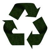 Het teken van het recycling Stock Foto's