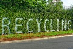 Het Teken van het recycling Stock Afbeelding