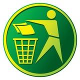 Het Teken van het recycling Royalty-vrije Stock Fotografie