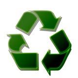 Het teken van het recycling Vector Illustratie