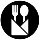 Het Teken van het restaurant Royalty-vrije Stock Fotografie