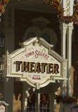 Het teken van het theater Royalty-vrije Stock Foto's