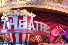 Het teken van het theater Royalty-vrije Stock Afbeeldingen