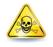 Het teken van het vergift Stock Afbeeldingen