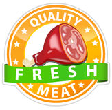 Het teken van het vlees royalty-vrije illustratie