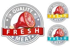 Het teken van het vlees stock illustratie