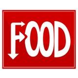Het teken van het voedsel Royalty-vrije Stock Fotografie