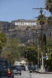 Het Teken van Hollywood Stock Afbeelding