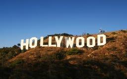 Het Teken van Hollywood Stock Foto's