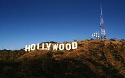 Het Teken van Hollywood Royalty-vrije Stock Afbeeldingen