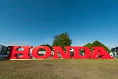 Het teken van Honda Stock Afbeeldingen