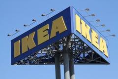 Het teken van Ikea Stock Afbeelding