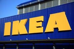 Het Teken van Ikea Stock Fotografie