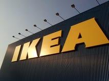 Het teken van Ikea Stock Foto