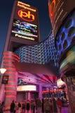 Het Teken van planeethollywood in Las Vegas, NV op 18 Mei, 2013 Stock Foto's