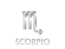 Het teken van Schorpioen Stock Afbeeldingen