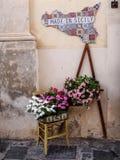 Het teken van Sicilië Stock Afbeelding