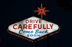Het teken van Vegas van Las Royalty-vrije Stock Afbeeldingen