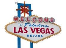 Het Teken van Vegas van Las Stock Afbeelding