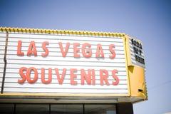 Het Teken van Vegas van Las stock foto's
