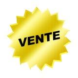 Het teken van Vente Royalty-vrije Stock Foto