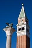 Het teken vierkante campanile van heilige Royalty-vrije Stock Fotografie