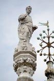 Het Tekenstandbeeld van heilige, Venetië Stock Foto's