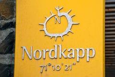 Het tekentablet van de Kaap van het noorden. Stock Foto