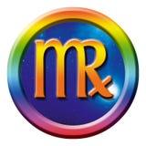 Het tekenvirgo van de astrologie Royalty-vrije Stock Afbeelding
