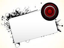 Het tekst-malplaatje van de luidspreker Royalty-vrije Stock Fotografie