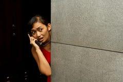 Het telefoongesprek van de noodsituatie Royalty-vrije Stock Foto's