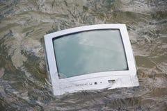 Het televisieprogramma is niet goed Royalty-vrije Stock Afbeelding