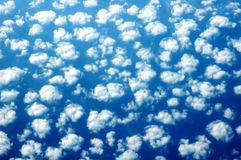 Het tellen Sheeps - Blauwe hemel Royalty-vrije Stock Foto's